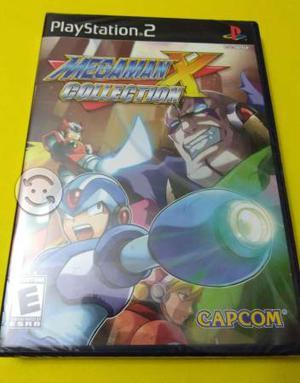 Megaman X Collection PS2 NUEVO