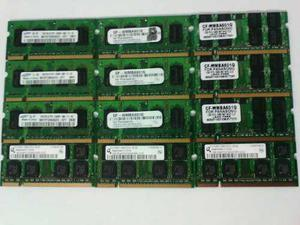 Memoria Ram Ddr2 1gb Laptop