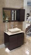 Mueble Baño Gabinete Espejo Lavabo De Marmol Contra Bety