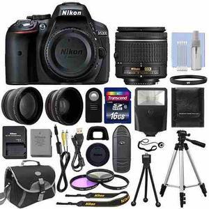 Nikon Dmm + 2 Lentes + 16gb + 12 Accesorios