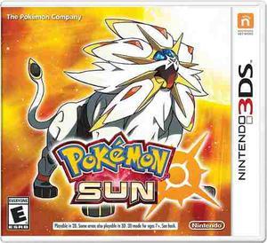 Nintendo 3ds Pokemon Sun
