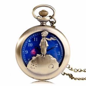 Reloj De El Principito (reloj De Bolsillo)