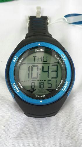 Reloj Para Nadar Sumergible Cronometro Con Lapsos