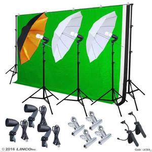 Set De Luces Para Estudio Fotográfico Profesionales