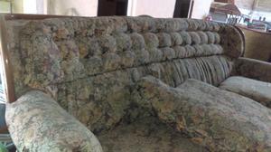 Sillones sala 2 piezas madera fina antiguos