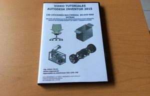 VIDEO TUTORIALES AUTODESK INVENTOR PRO PASO A PASO 320 VIDS
