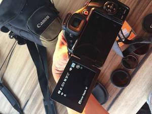 Camara Canon Power Shot Sx40 Hs Casi Nueva Con 3 Filtros Uv