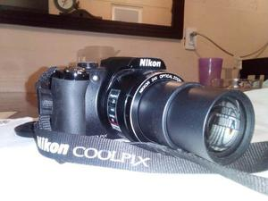 Camara Digital Nikon Modelo P Mp Negra Excelente