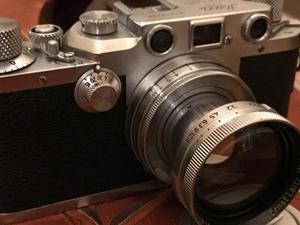 Camara Leica Iiic Con Su Lente Summicron 5c F2