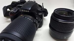 Camara Nikon D Lentes  Y