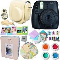 Fujifilm Instax Mini 8 Camera Black + Accessories Kit For Fu
