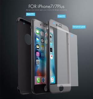 Funda Case Protector 360 Iphone 7 7 Plus, 6 6s Plus 5 5s