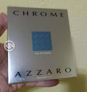 Locion AZZARO Chrome 100m l Caballero Nueva