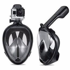 Mascara Snorkel Easybreath Adaptador Gopro Sjcam Talla S/m