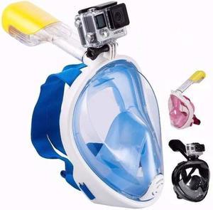 Mascara Snorkel Visor Compatible Gopro Sj Envio Gratis