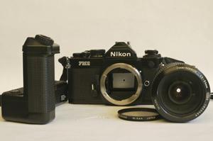 Nikon Fm2n Con Nikkor 50mm 1.8