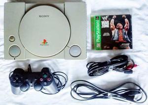 Playstation 1 Ps One Ps1 Psx Completo Con Juego Original