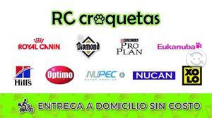 RC croquetas - entrega a domicilio