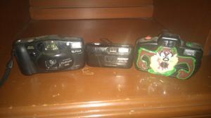 Remato Tres Camaras Fotograficas  Y
