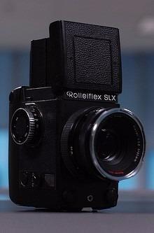Set Camara Rolleiflex Slx Con Accesorios