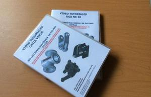 DOBLE PACK 640 VIDEO TUTORIALES CATIA V5R20 Y UGX 10 PASO A