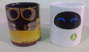 Eva y Wall e !!! Tazas - Taza