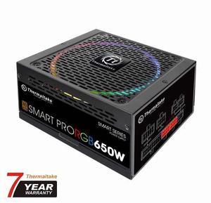 Fuente De Poder Thermaltake Smartpro Rgb 650w Modular Ps-spr