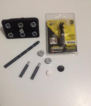 Kit D Plantilla Y Brocas Para El Sistema Minifix Carpinteria
