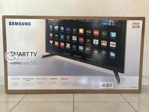 Tv Samsung 32' led, smart tv, hd nueva