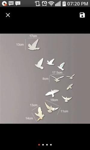 Apliques de Pájaros