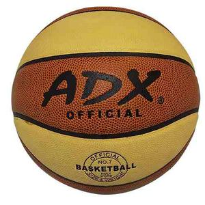 Balon Adx Basquetbol Piel Sintética Laminado No. 7