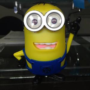 Bocina Recargable Minion, Usb, Micro Sd, Radio, Aux, 2 Eyes