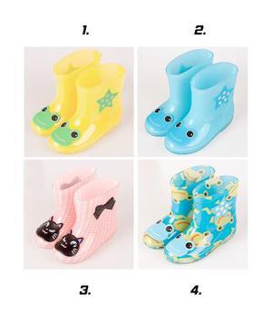Botas Bebe Lluvia Agua Impermeables Calzado Zapatos Niño