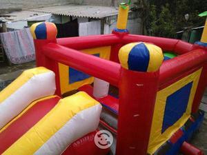Excelente inflable para fiestas infantiles