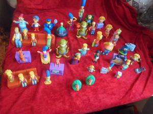 Lote De Figuras De Los Simpson