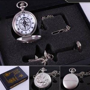 Oliadesign Alquimista De Acero Animado Reloj De Bolsillo, C