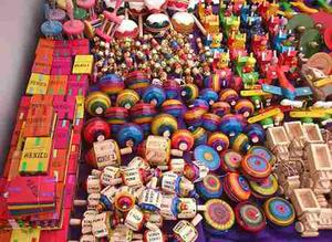 Paquete De Juguetes Tipicos Mexicanos