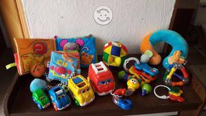 Paquete de 40 juguetes para bebé