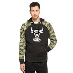 Pullover Hood Toros De Chicago Nba 47 Brand Importado