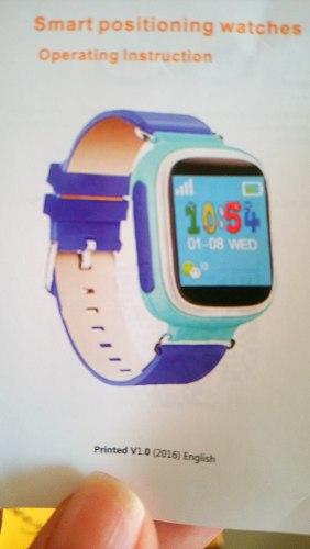 Reloj Gps Y Voz Para Niños Color Naranja
