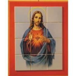 Sagrado Corazon De Jesus En Azulejo