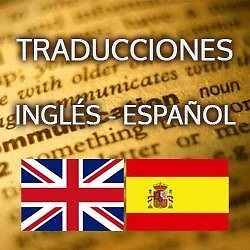 TRADUCCIONES INGLÉS - ESPAÑOL, ESPAÑOL INGLÉS MX$350