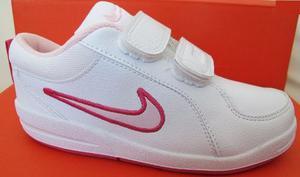 Tenis Nike Niña Color Blanco-rosa