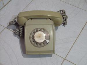 Vendo Cambio Antiguo Teléfono De Disco Decoracion No Lamina