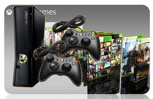 2 Xbox gb 2 Controles Alambricos Timer