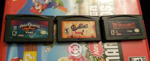 3 Juegos Game Boy Advance, SP, DS