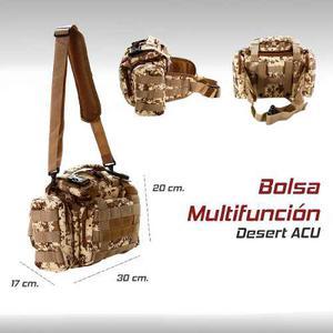 Bolsa Militar Pesca Caceria Molle Gotcha Paintball Airsoft