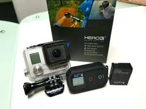 Cámara GoPro Hero 3+ Black Edition.