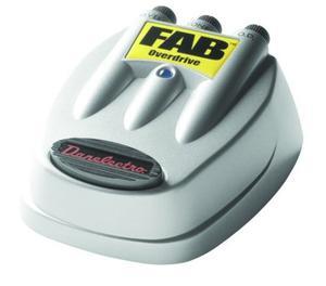 Danelectro D-2 Fab Overdrive Pedal De Efectos De Guitarra