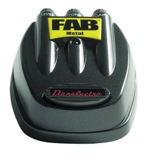 Danelectro D-3 Fab Metal Pedal De Efectos